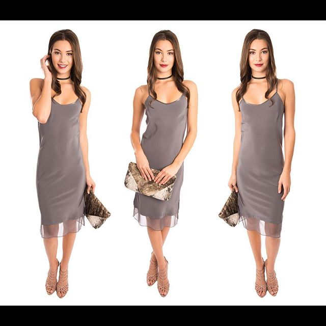 F16 LAUREN PYTHON CLUTCH x ABI FERRIN SLAKE DRESS 😍🙌🏻👏🏻✨⭐️ @abiferrin @westvillage_dallas #clutch #shop #local #designer #fall #trend #silk #leather #handmade #dallas #ootd #lotd #fashion #love #handbag #custom