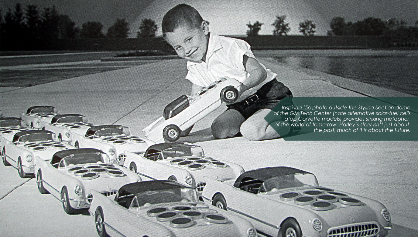 One of Harley Earl's alternative energy sources on Corvettes