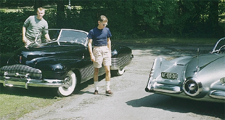 Harley's boys even drove these motoramic masterpieces.