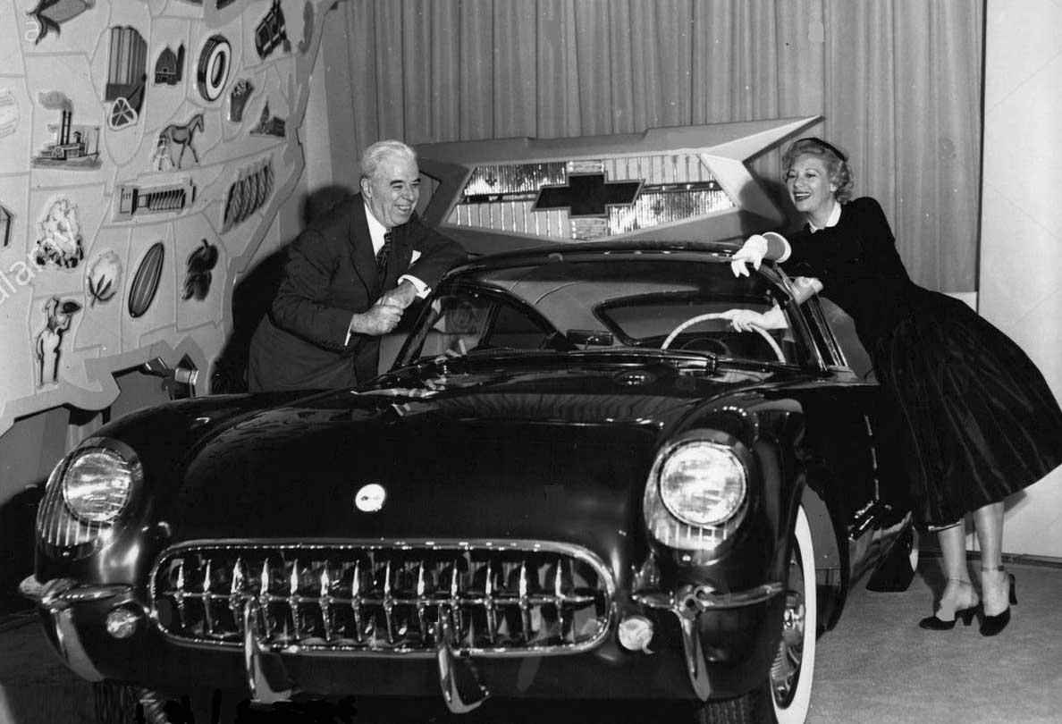 Thomas Keating with Diane Shore at the Motorama.