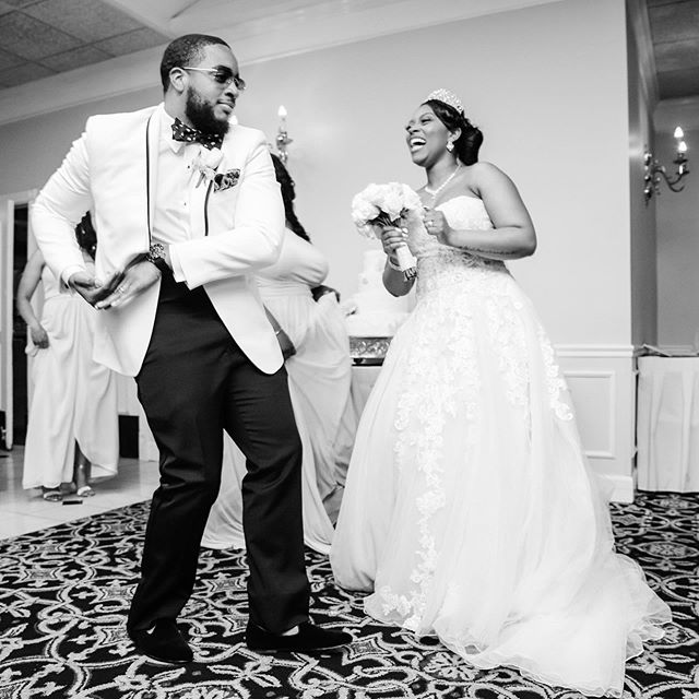 Laughing together since 2017 💛 #WomanCrushWednesday #BuffedUp #Laughter #Marriage #BlackLove