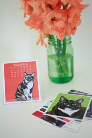 2015 Pawblo Picasso Cat Calendar (FREE with your donation of $50 or more!)