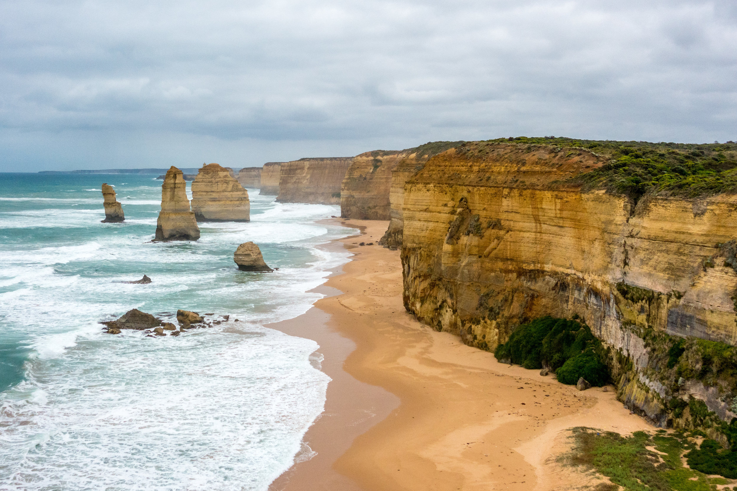 Our visit to  Australia  began in trendy Melbourne, then down the treasure-lined Gold Coast. We gawked at koalas and wallabies, and witnessed the gospel of the Twelve Apostles.    Read more...