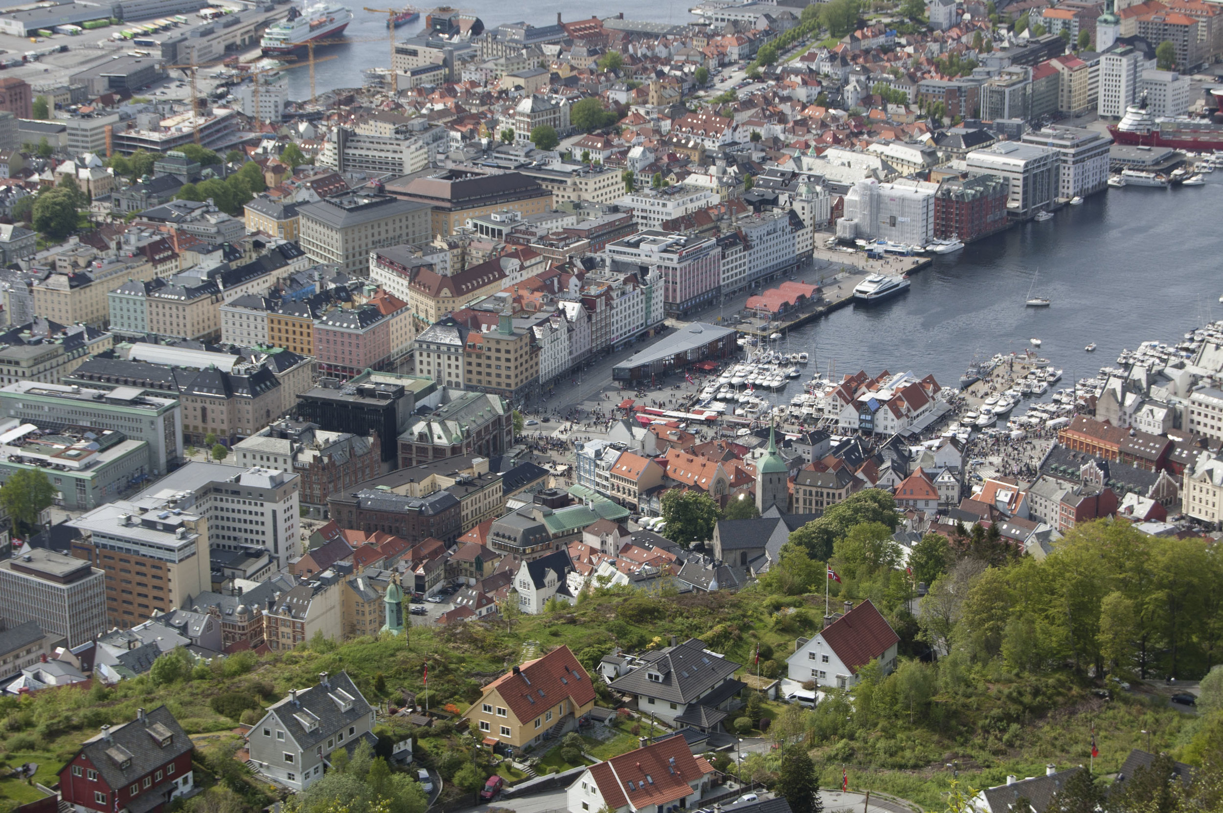 Norway  hosted us for its 200th birthday celebration. Bergen shared its dock-side charm and maritime history. A day-long fjord and rail tour showcased the country's natural beauty.  Read more...