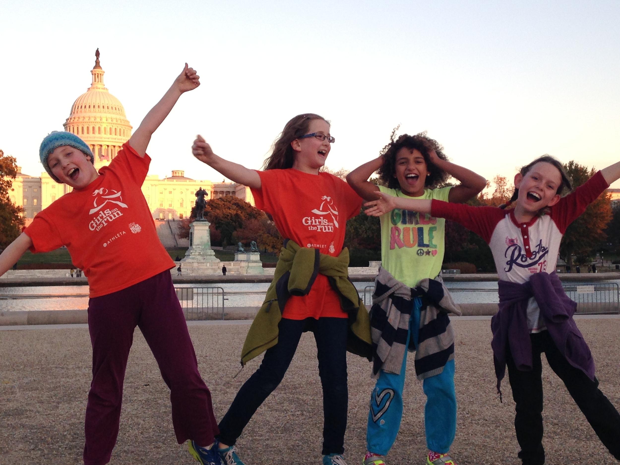 Photo courtesy of Girls on the Run