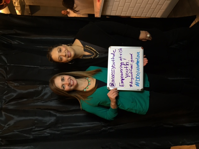 Jodi Ovca and Caitlin Ellsworth with ACCESS Youth are looking for volunteers to help at-risk teens navigate their place in the juvenile justice system and build a brighter future for themselves