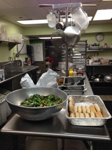 The kitchen at Miriam's Kitchen