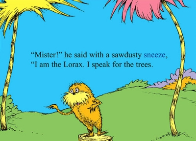Source: http://www.econesting.com/wp-content/uploads/2011/04/lorax3.jpg