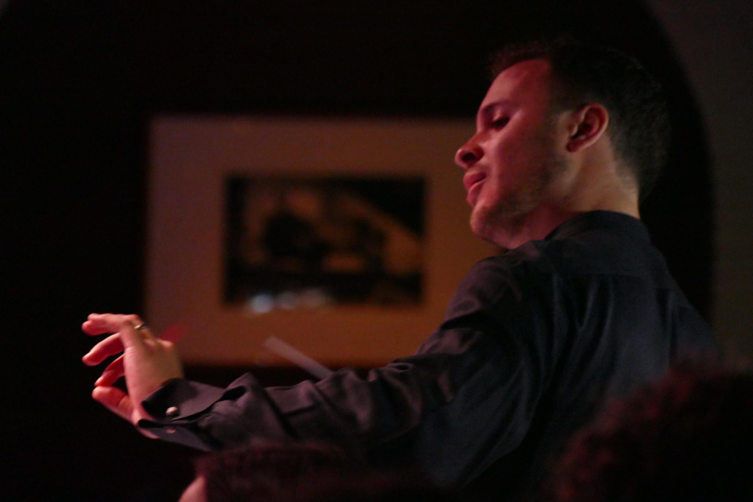 John Devlin, music director, Gourmet Symphony