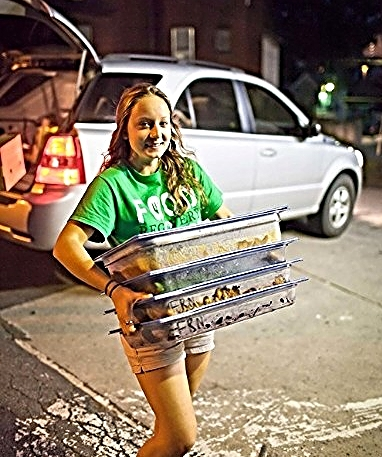 Food Recovery at Lycoming College, Williamsport, Penn./Photo by Jason Souder