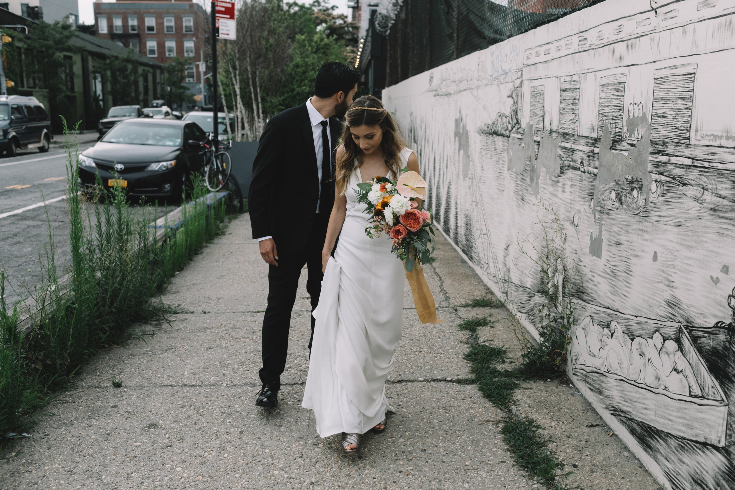Christina + Joe - Photographed by Tom Leung501 Union, BK NYC7.28.17