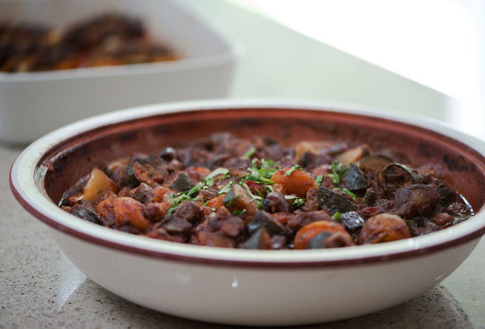 Lamb, Apricot and Chickpea Tagine