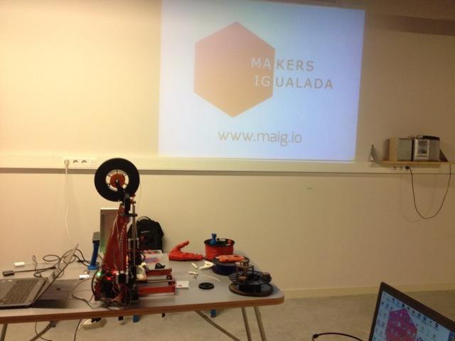 Introducció a la Impressió 3D amb MaIg
