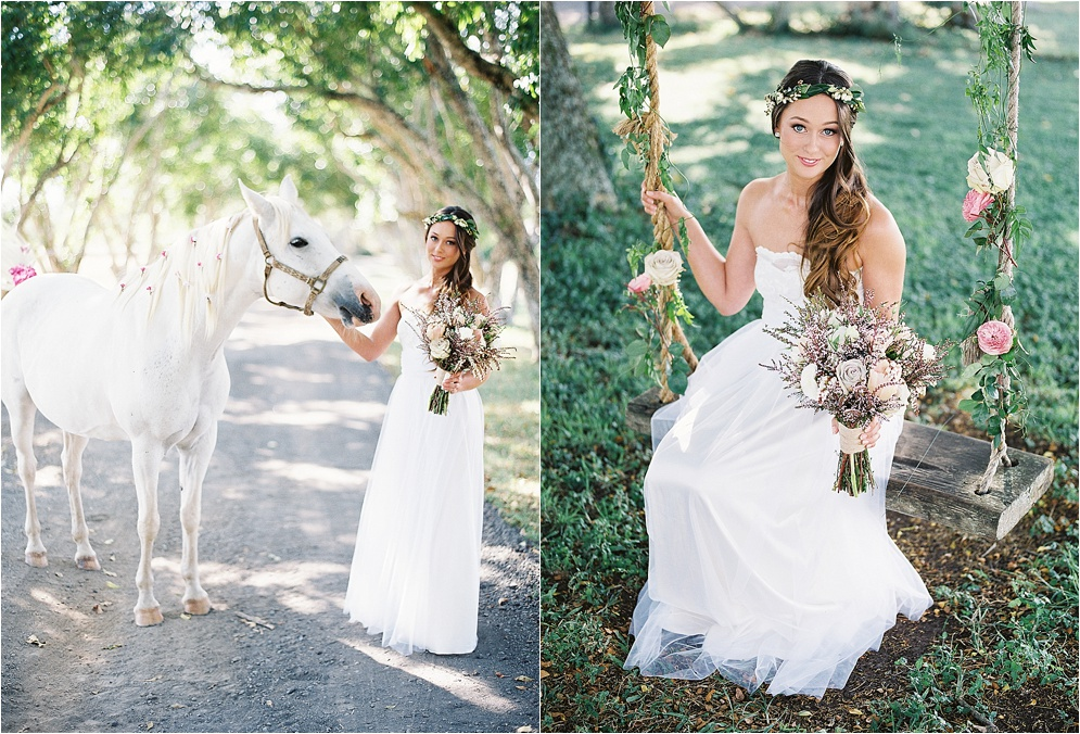 Bohemian Bride Swing Photos