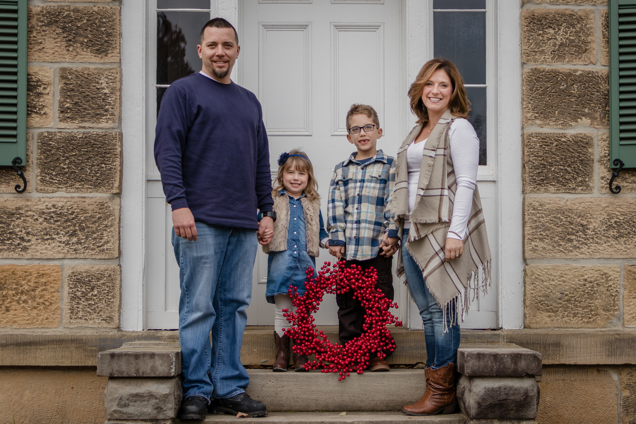 Interested in Family Photos? - View examples from our Christmas Card session with the Csata Family last Fall