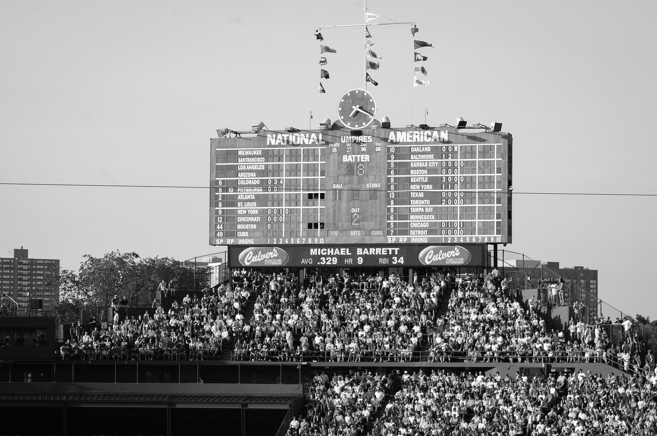 Wrigley Field, Chicago, Illinois, 2006
