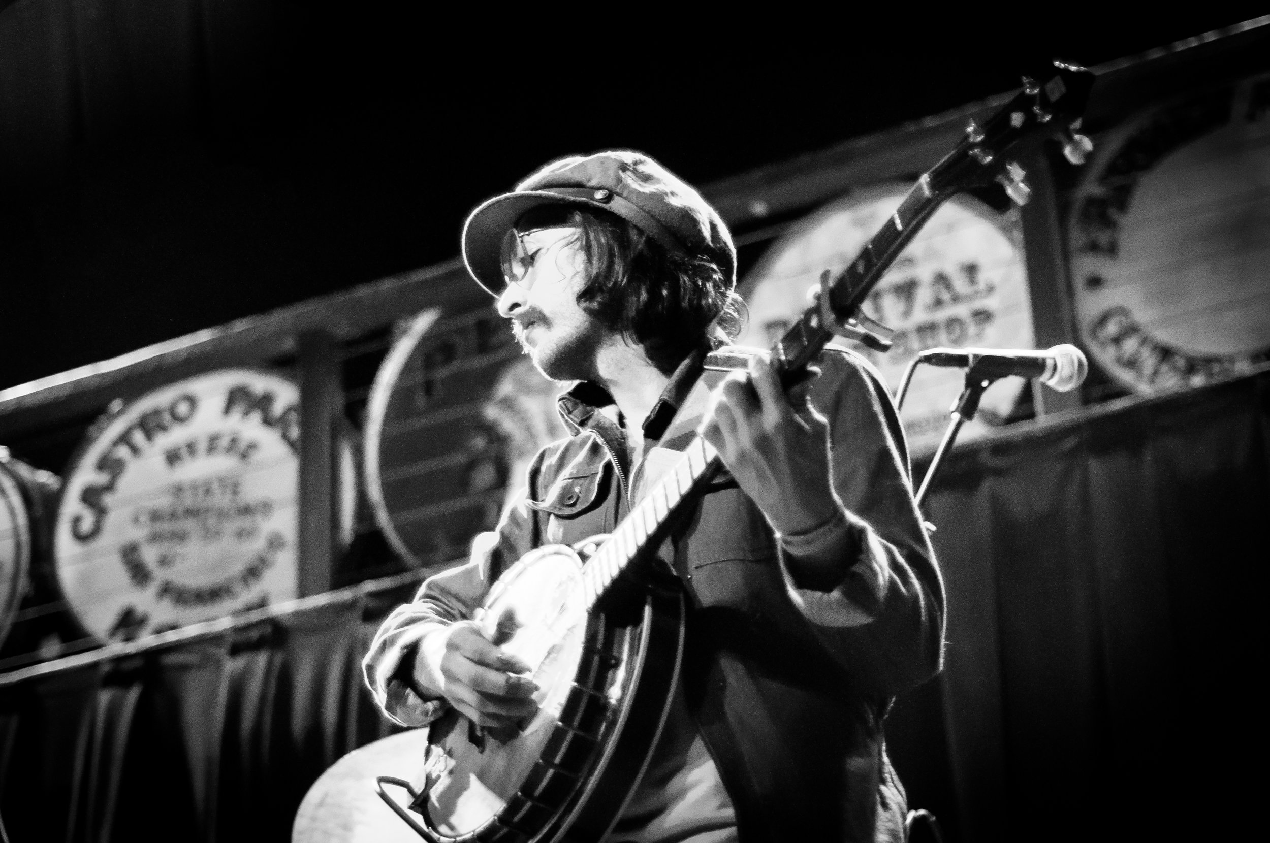 Stephen Pierce of Banditos, Mississippi Studios, Portland, Oregon, 2016
