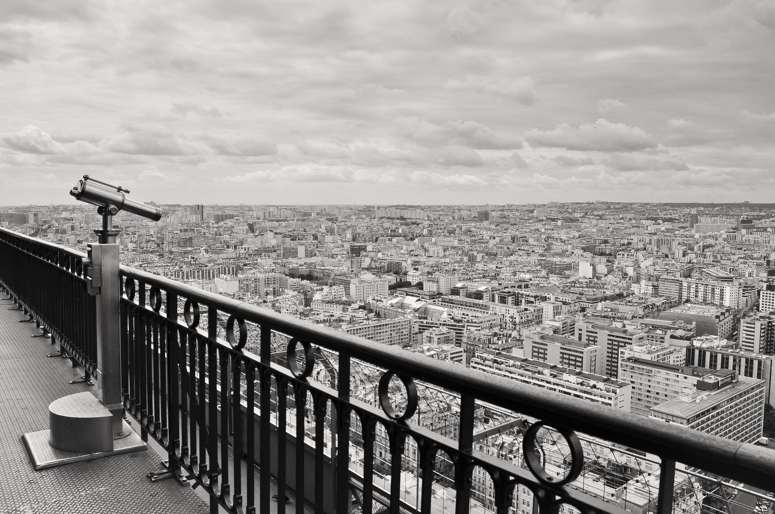 View From the Eiffel Tower, Paris, France, 2011
