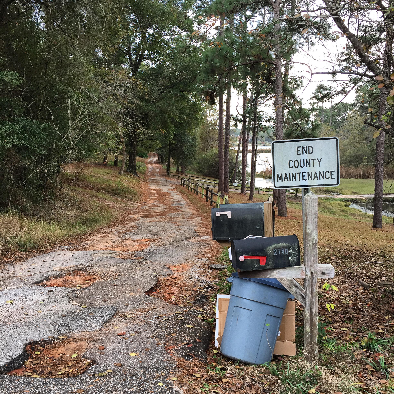 End County Maintenance, Mobile, Alabama, 2016