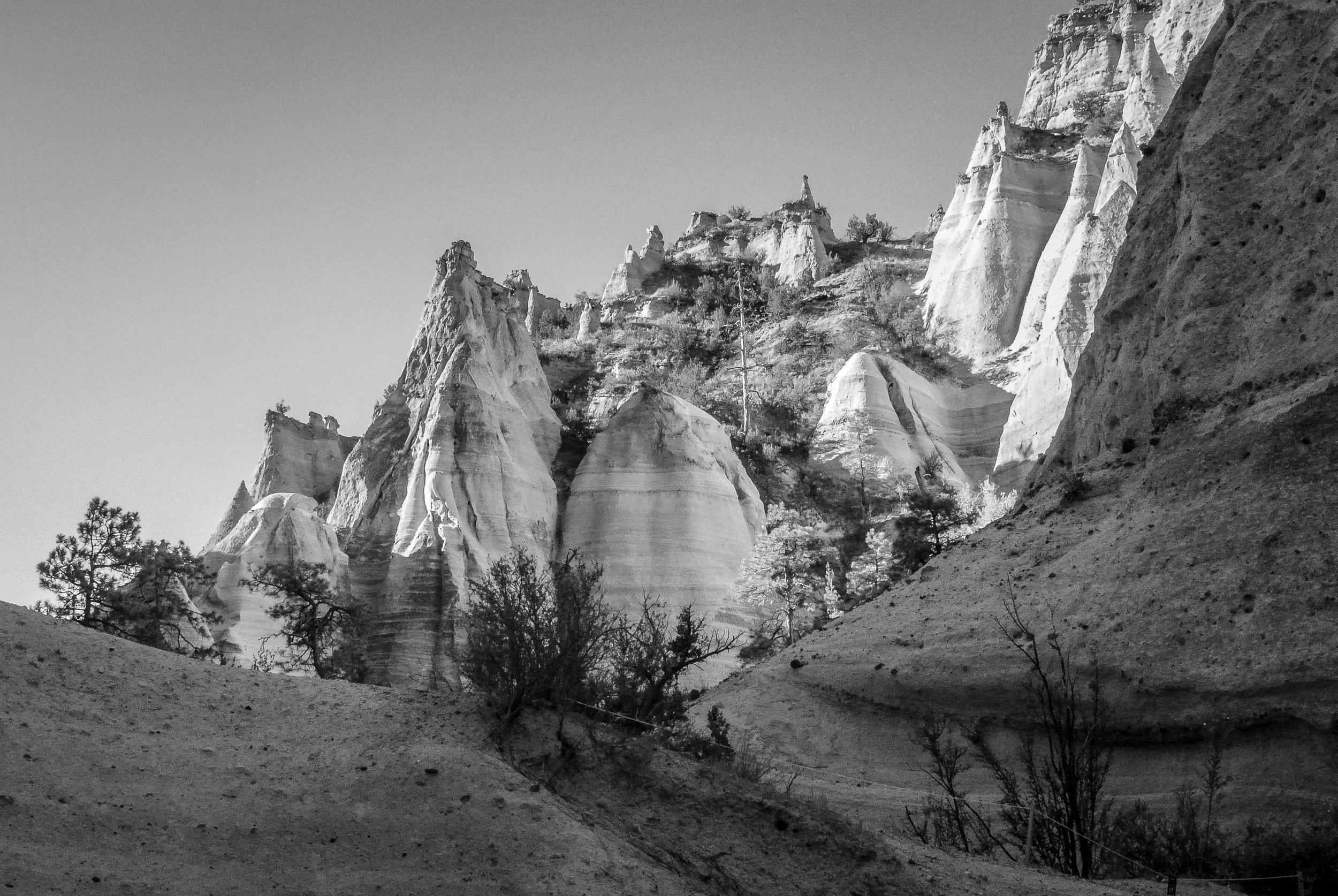 Kasha-Katuwe Tent Rocks National Monument, New Mexico, 2018