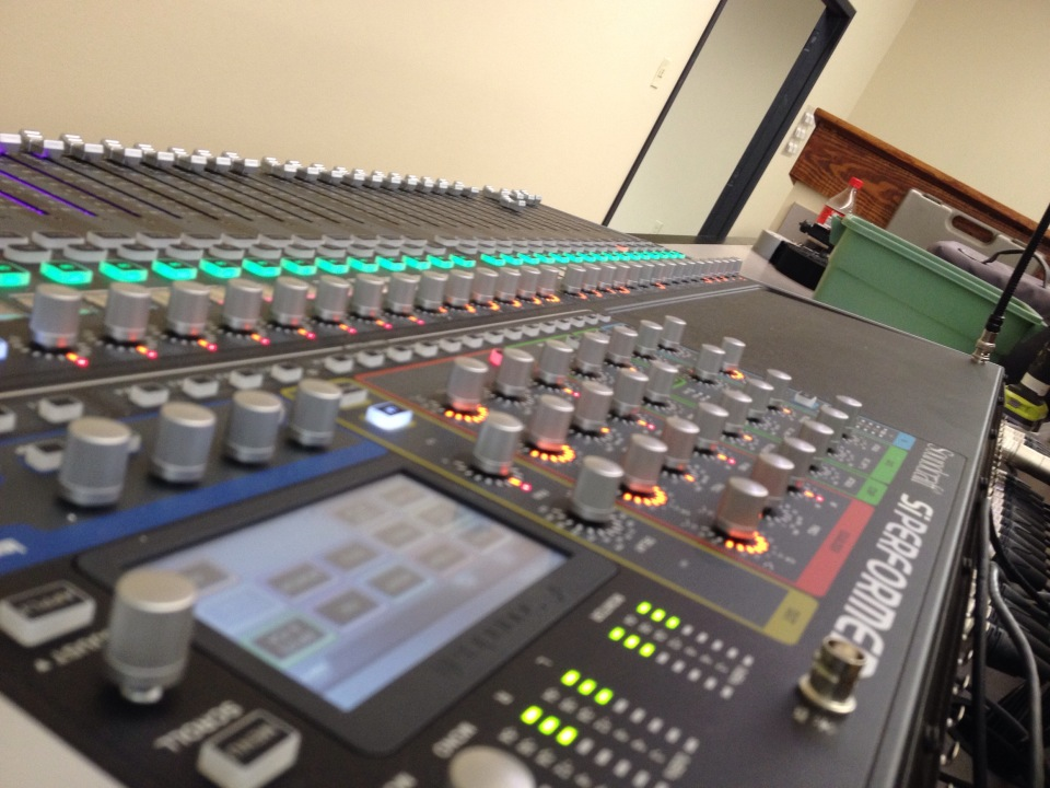 New Life Church's Brand New Sound Board