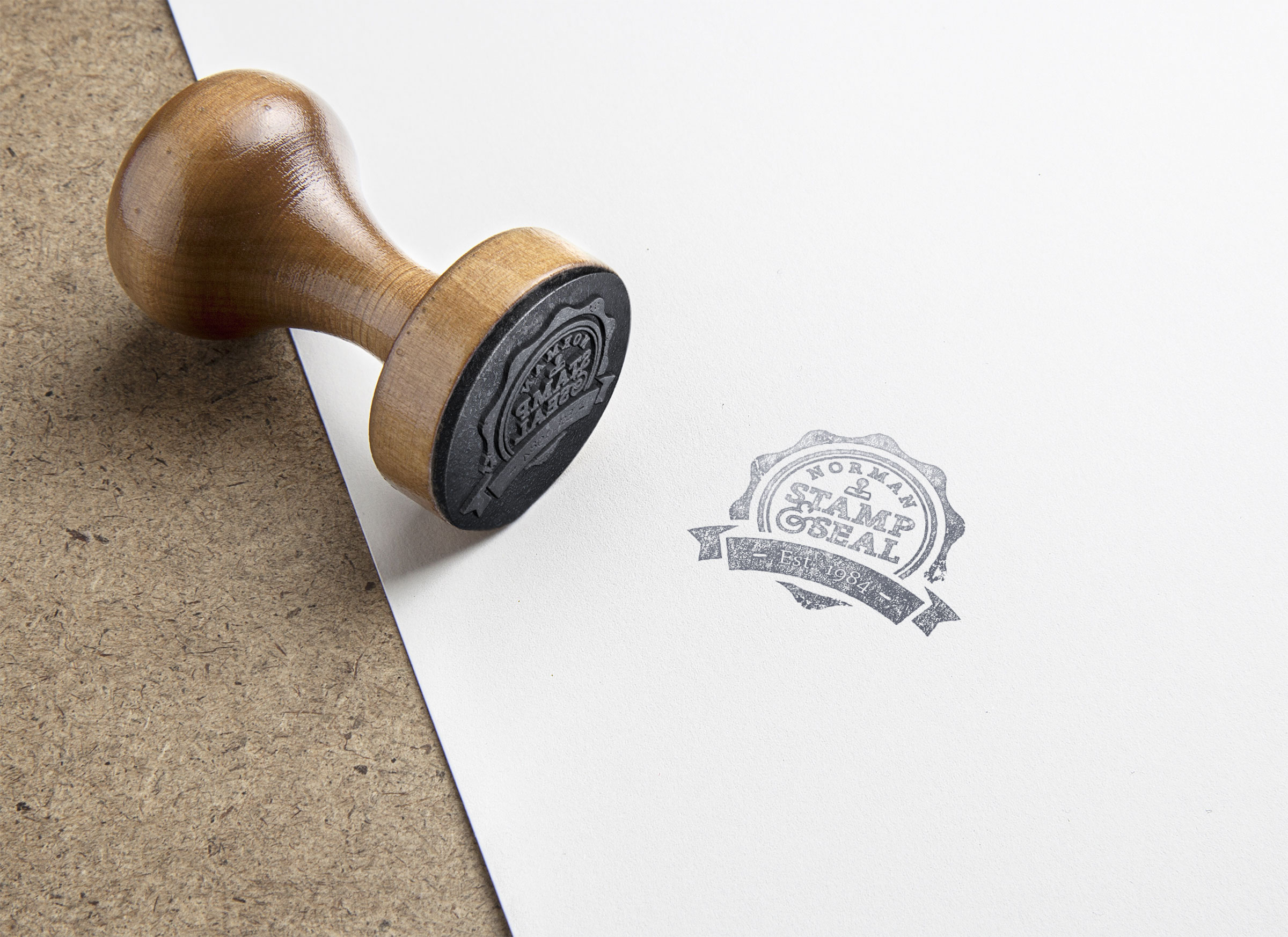 Norman Stamp & Seal Stamp