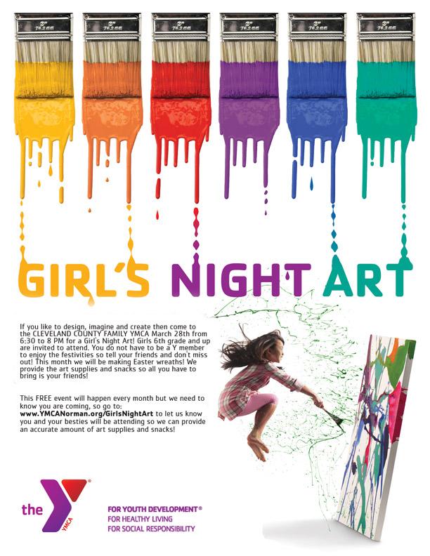 CCFYMCA Girl's Night Art Layout