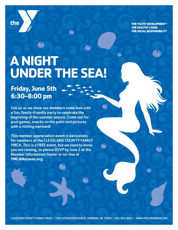 CCFYMCA Night Under the Sea