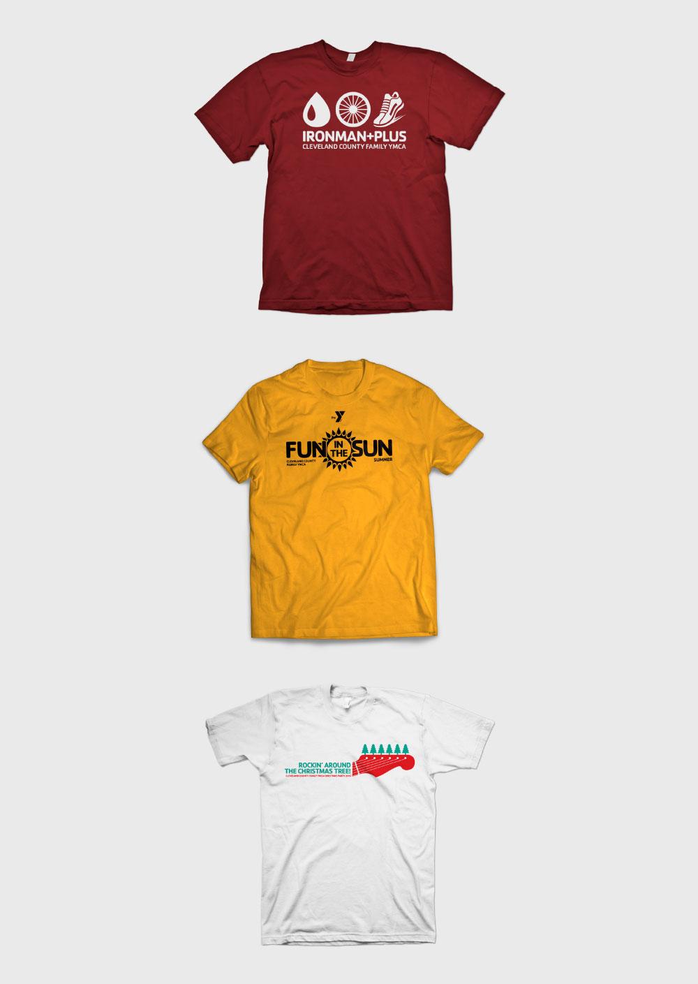 CCFYMCA Event T-shirt Designs