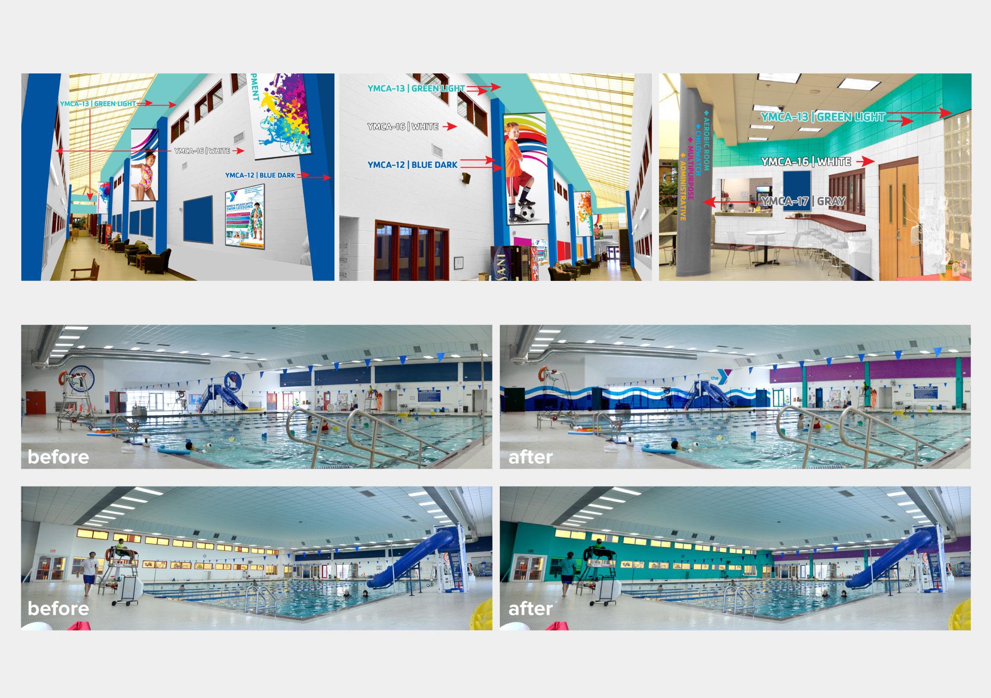 CCFYMCA Facility Update Photos
