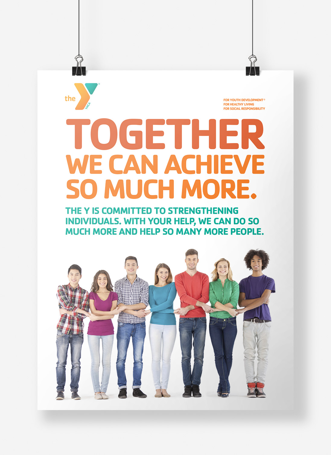 CCFYMCA Together We Can Achieve More Poster