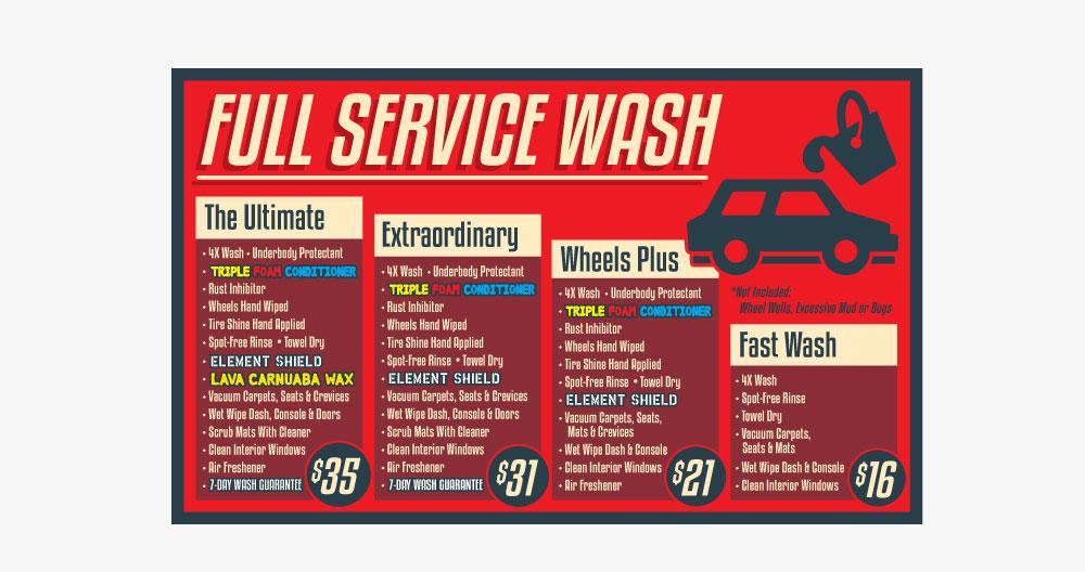 Norman's Cruise-In Car Wash Logos