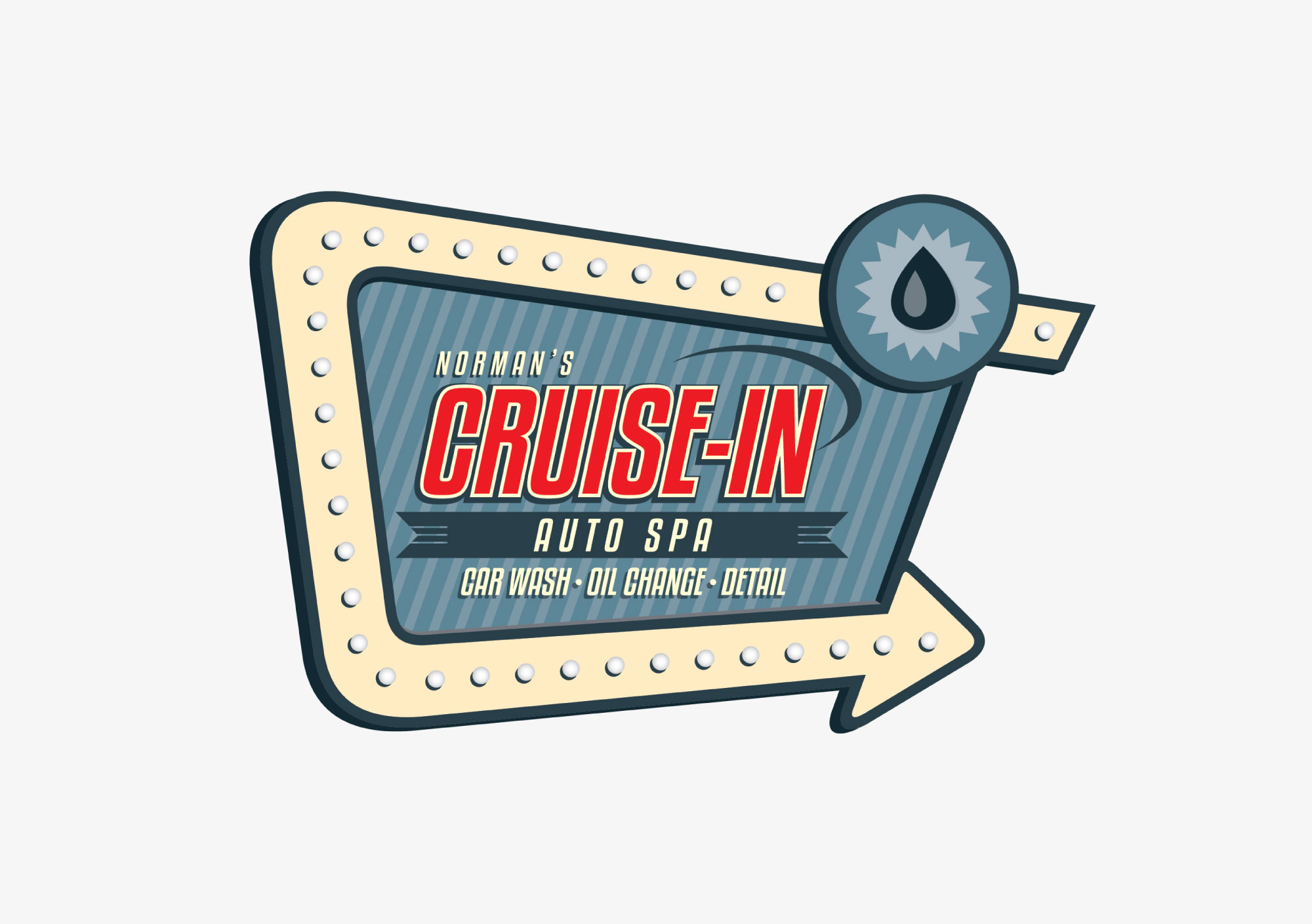 Norman's Cruise-In Logo