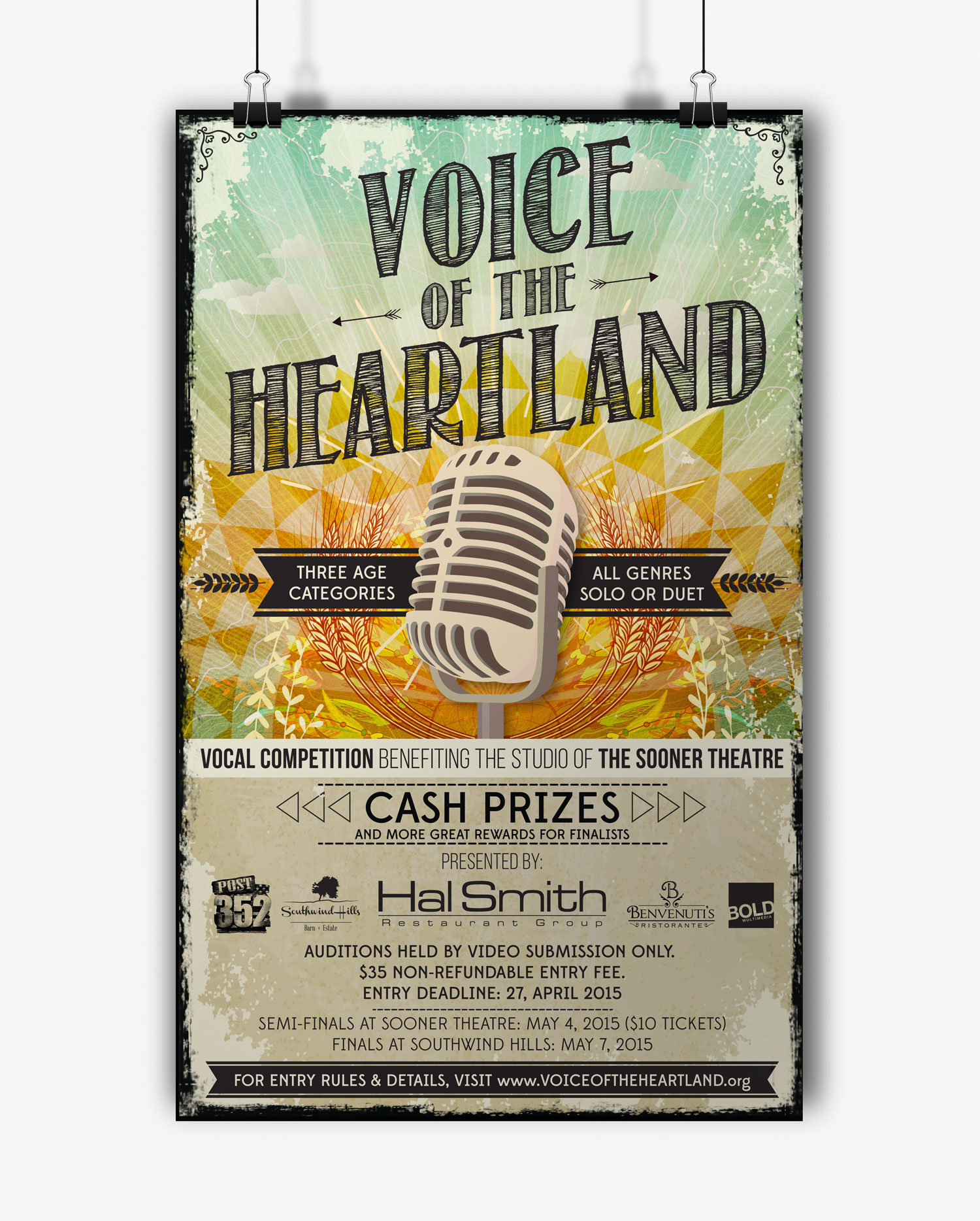 Voice of the Heartland Poster