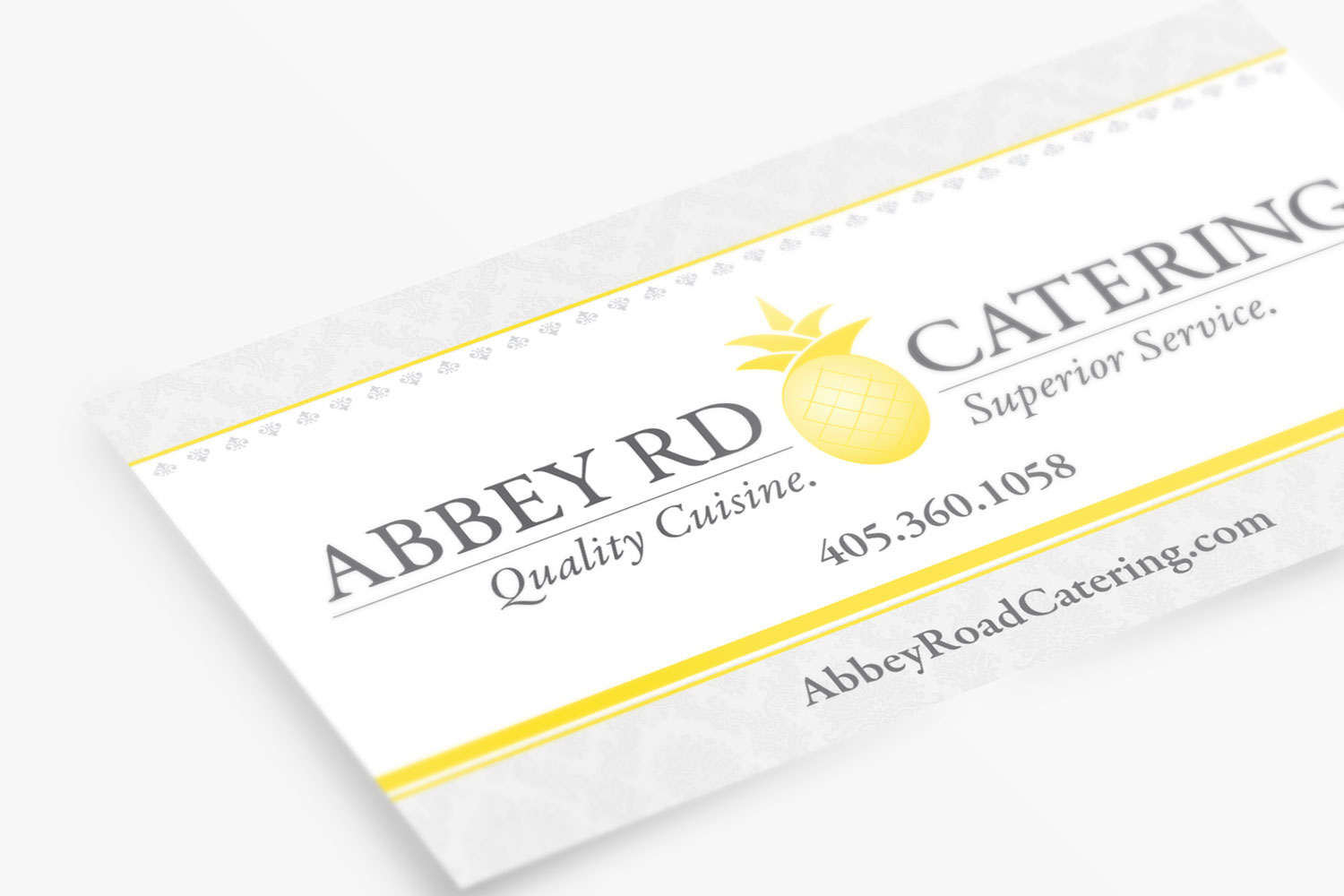 Abbey Road Business Cards Front
