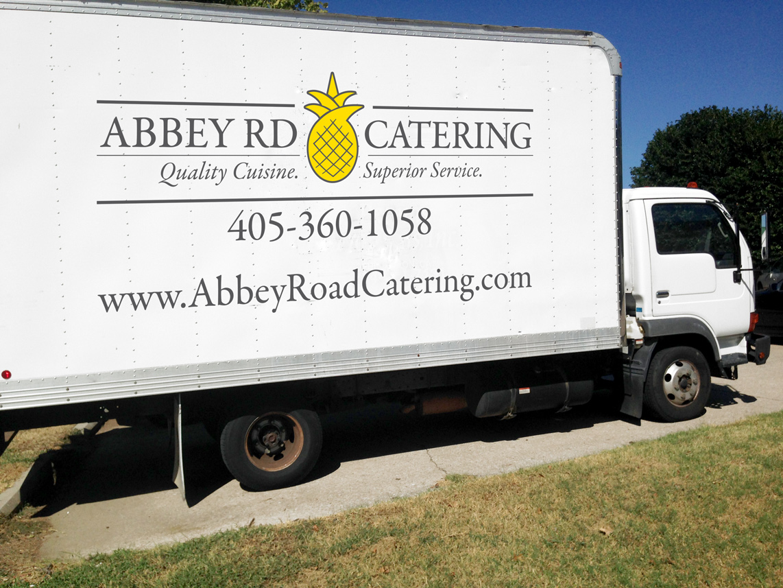Abbey Road Truck Wrap