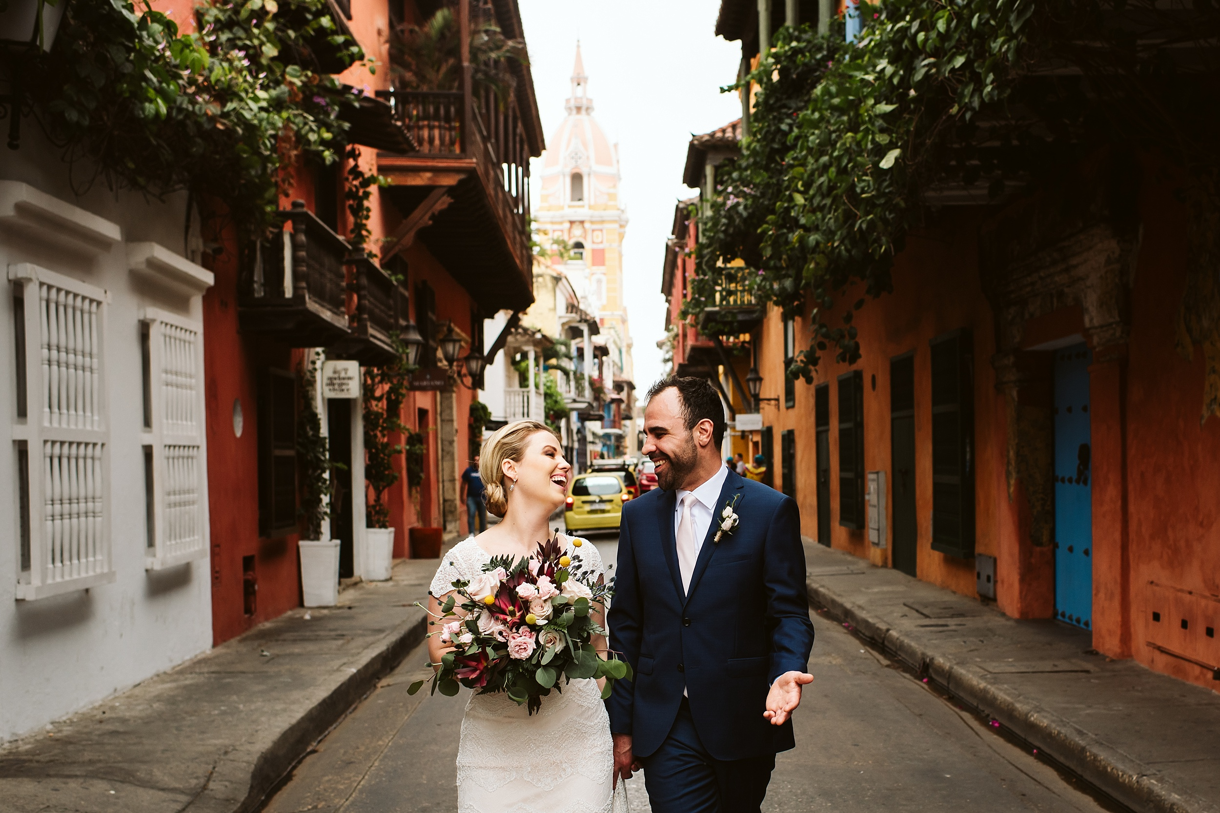 Sarah & Scott - Destination Wedding Colombia