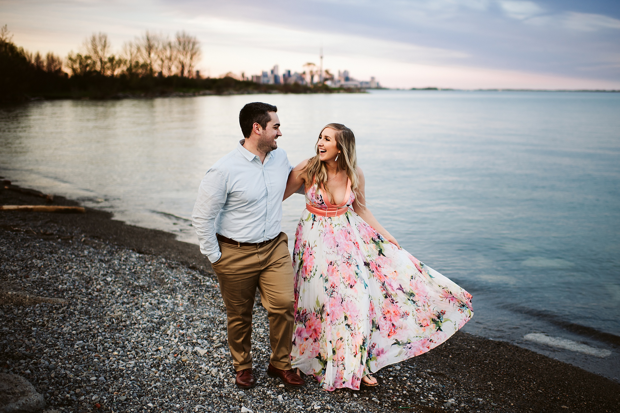 Humber Bay Park Engagement shoot