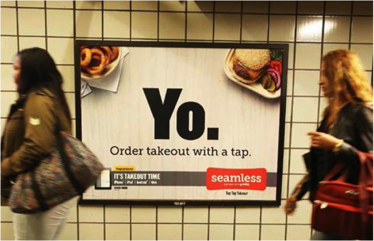 Those subways ads don't make it easy, either.
