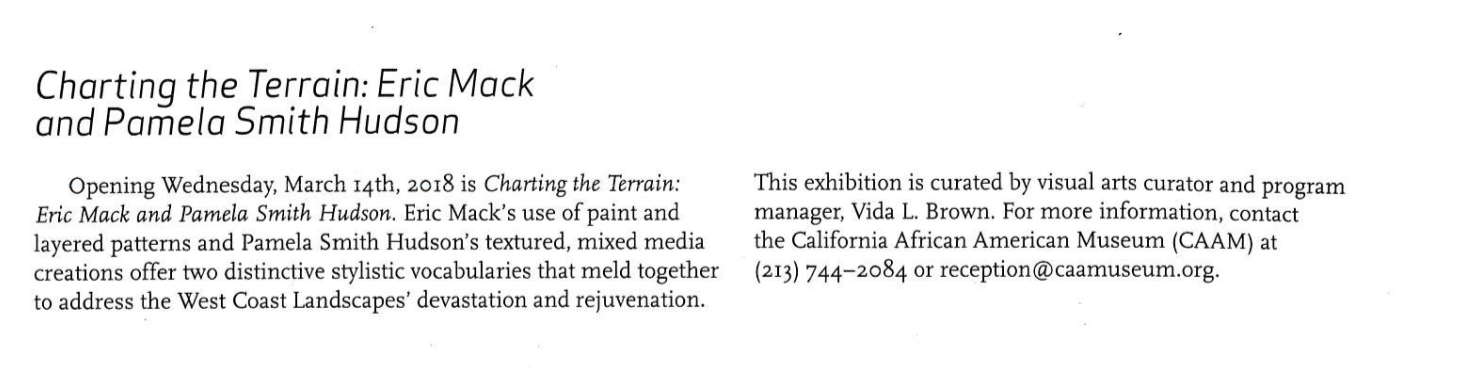 Coverage in the International Review for of African American Art