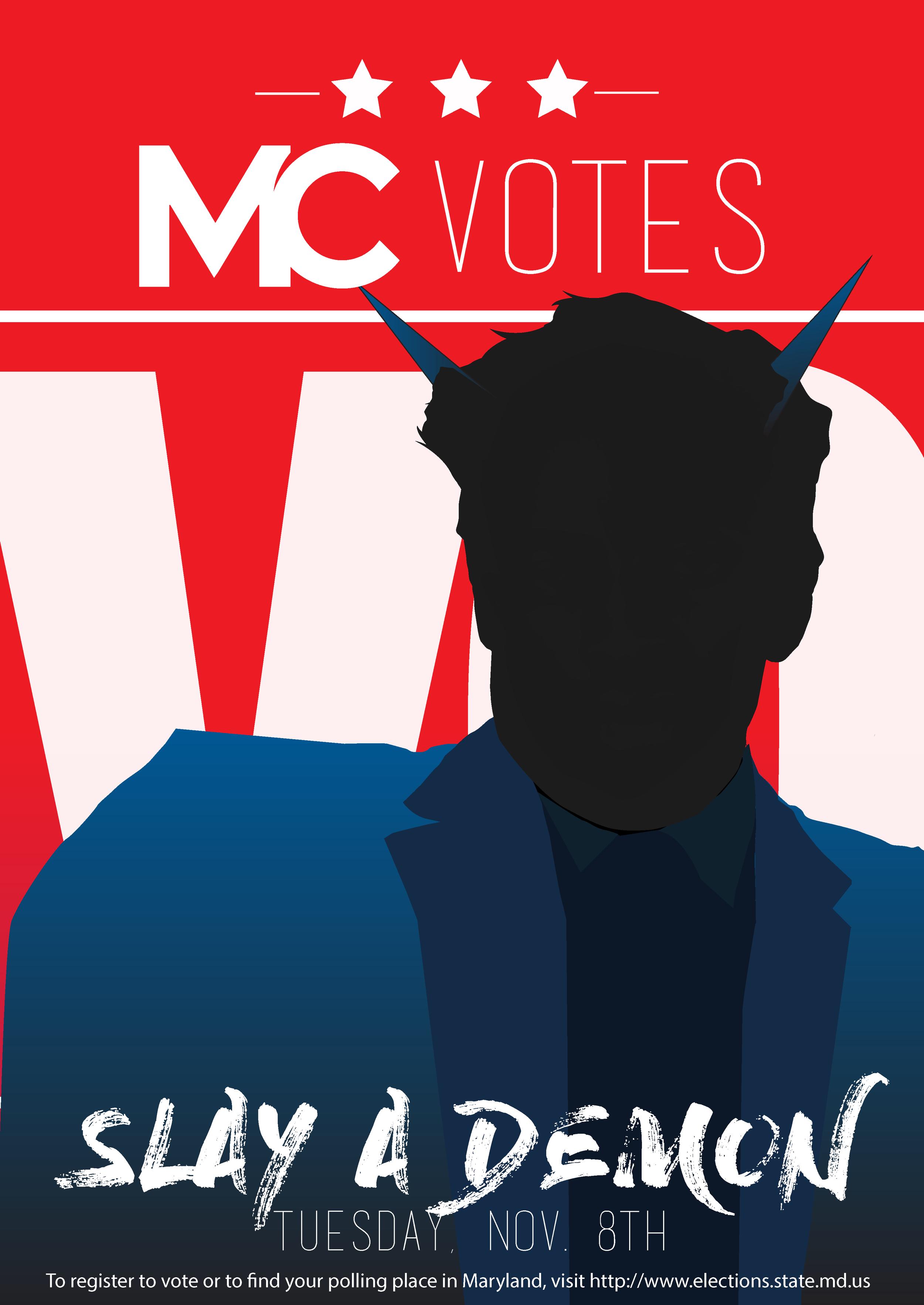 MC Votes Poster Campaign 2016