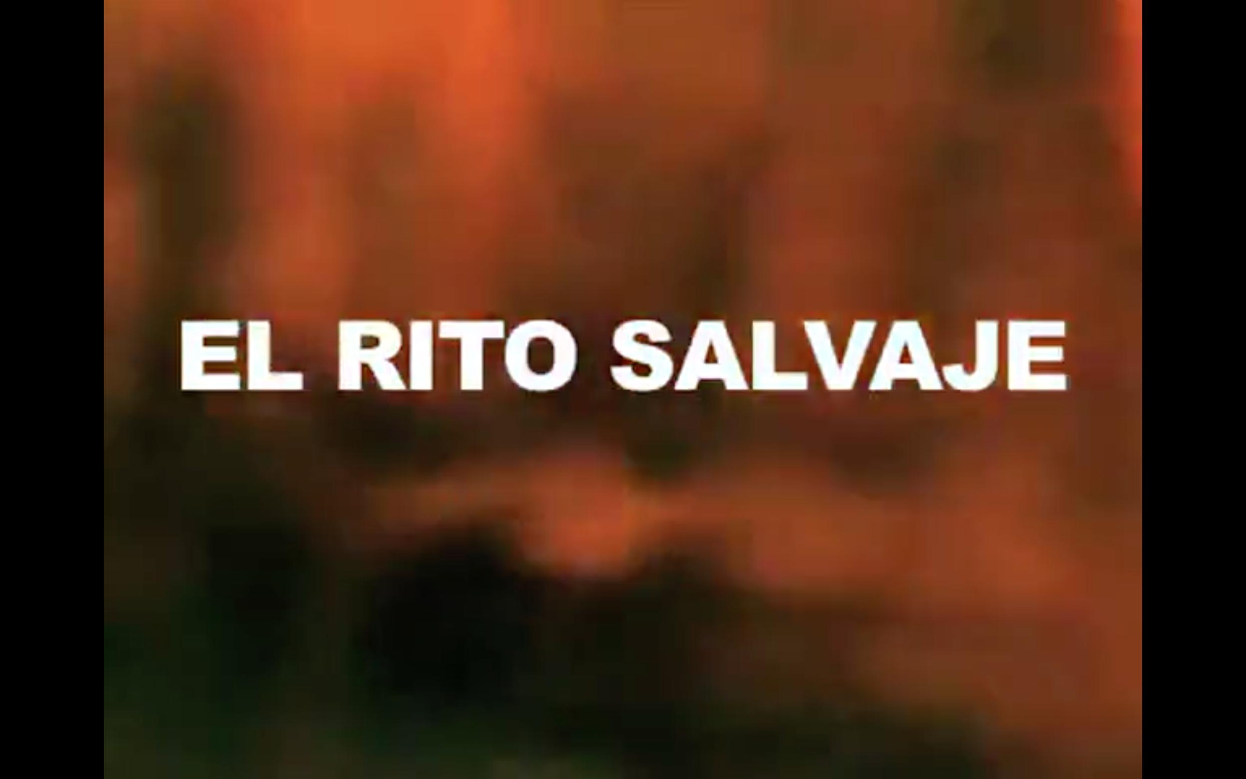 el rito salvaje (2011)