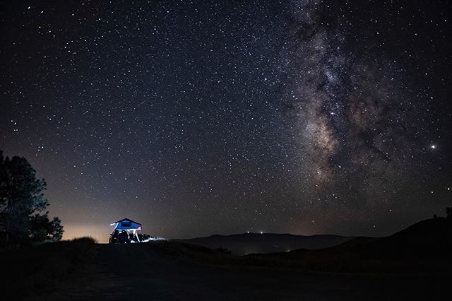 Sometimes you just have to get out of town and shoot something different. From my #offroad page @overlandbaz. This was last week north of LA. The moon was down, the #milkyway was up. Comfort supplied by the #rooftoptent by @roamadventureco . . . . . . . #nightphotography #spacethefinalfrontier #longexposure #photographer #nikond750 #adventureisnecessary #audiallroad #manfrotto #breathin #britsinla #figueroamountain #laspadresnationalforest Love my #audisq5 but @keyesaudi is on my #shitlist