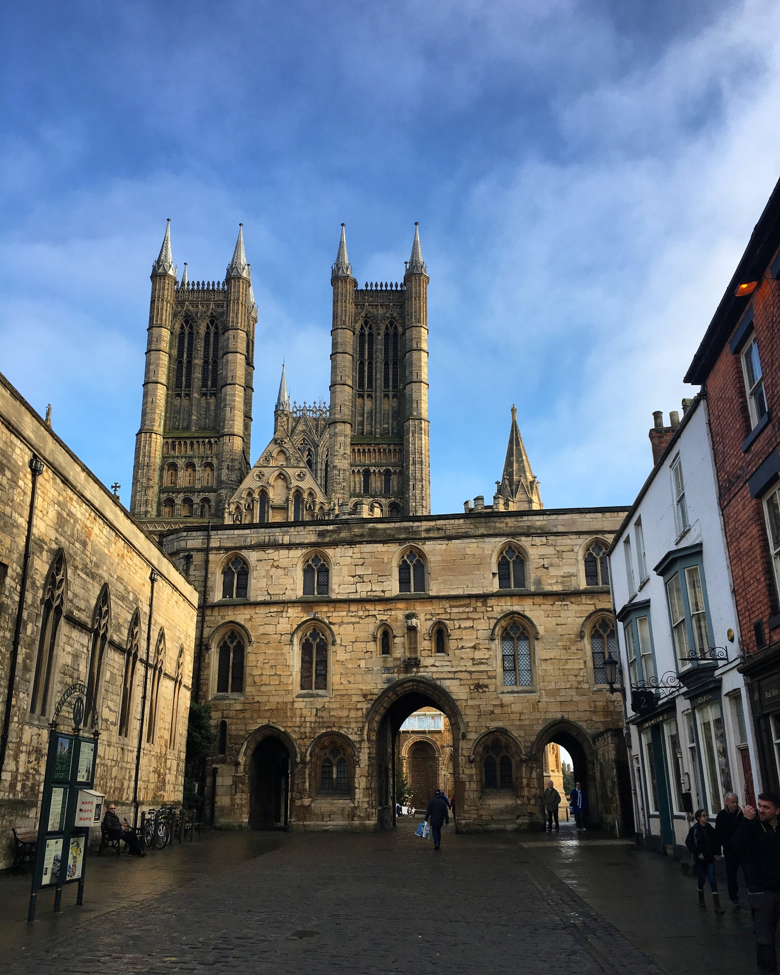 I always know I'm home when I see Lincoln Cathedral