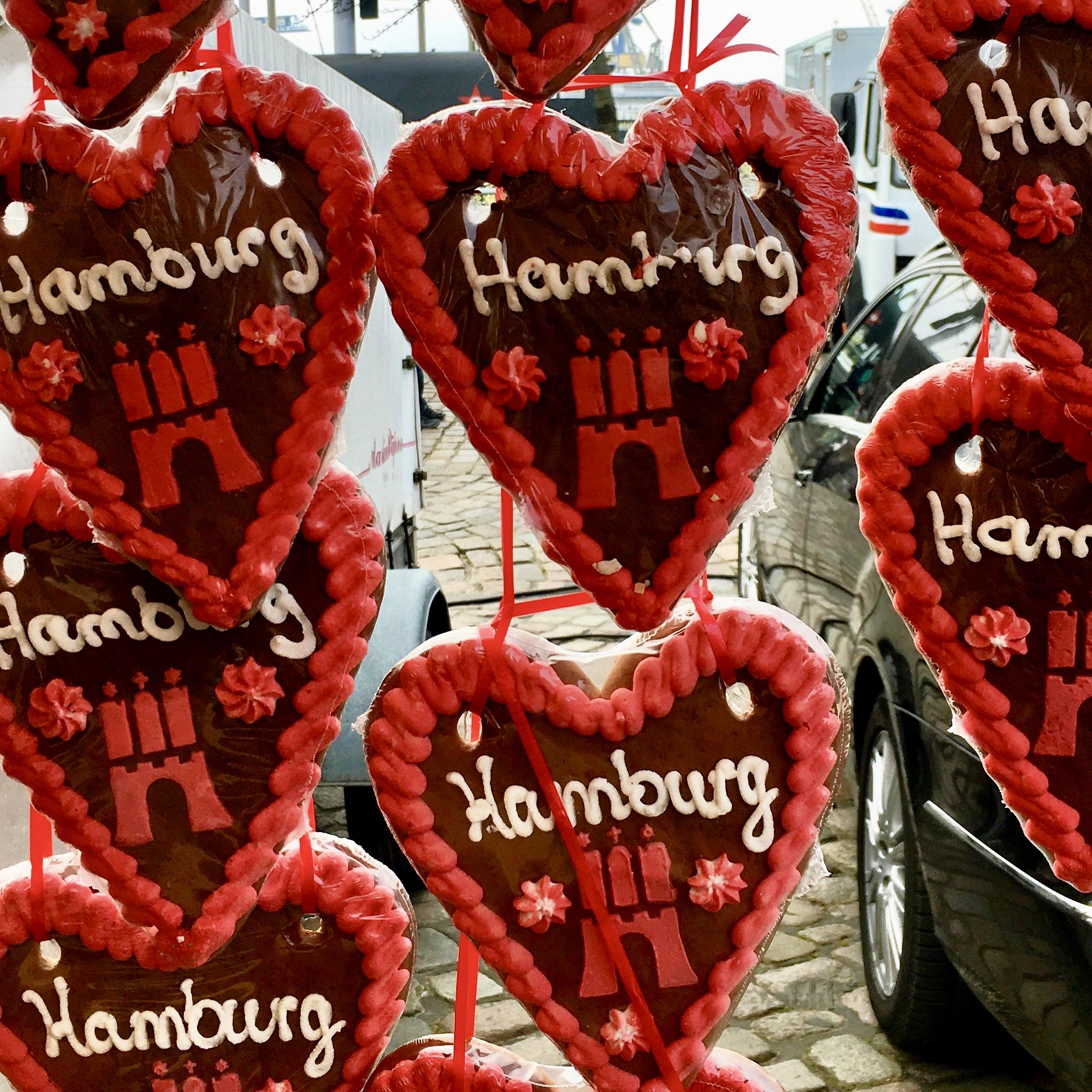 Loving Hamburg, especially where food's concerned