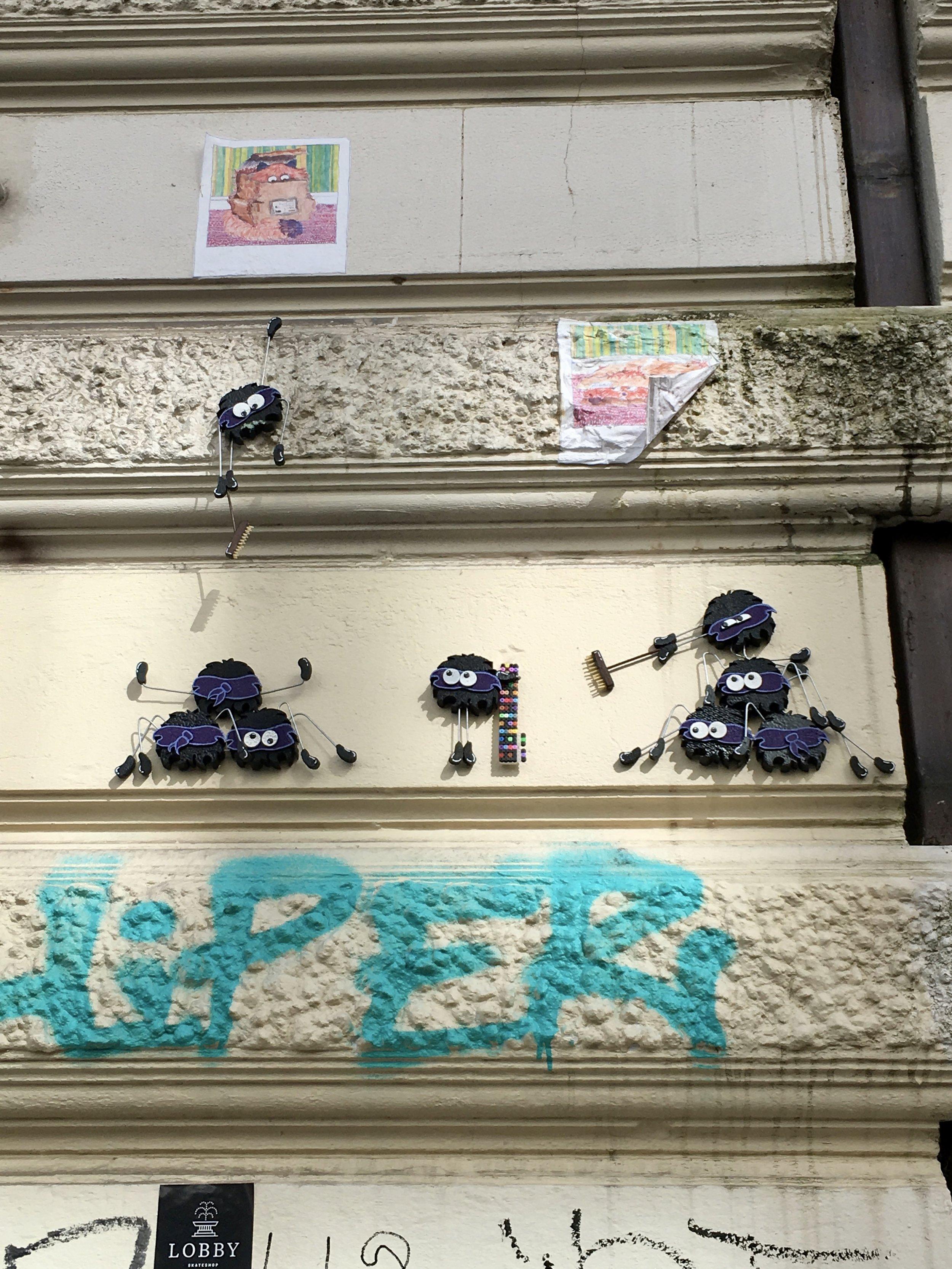 Fun street art in Sternschanze