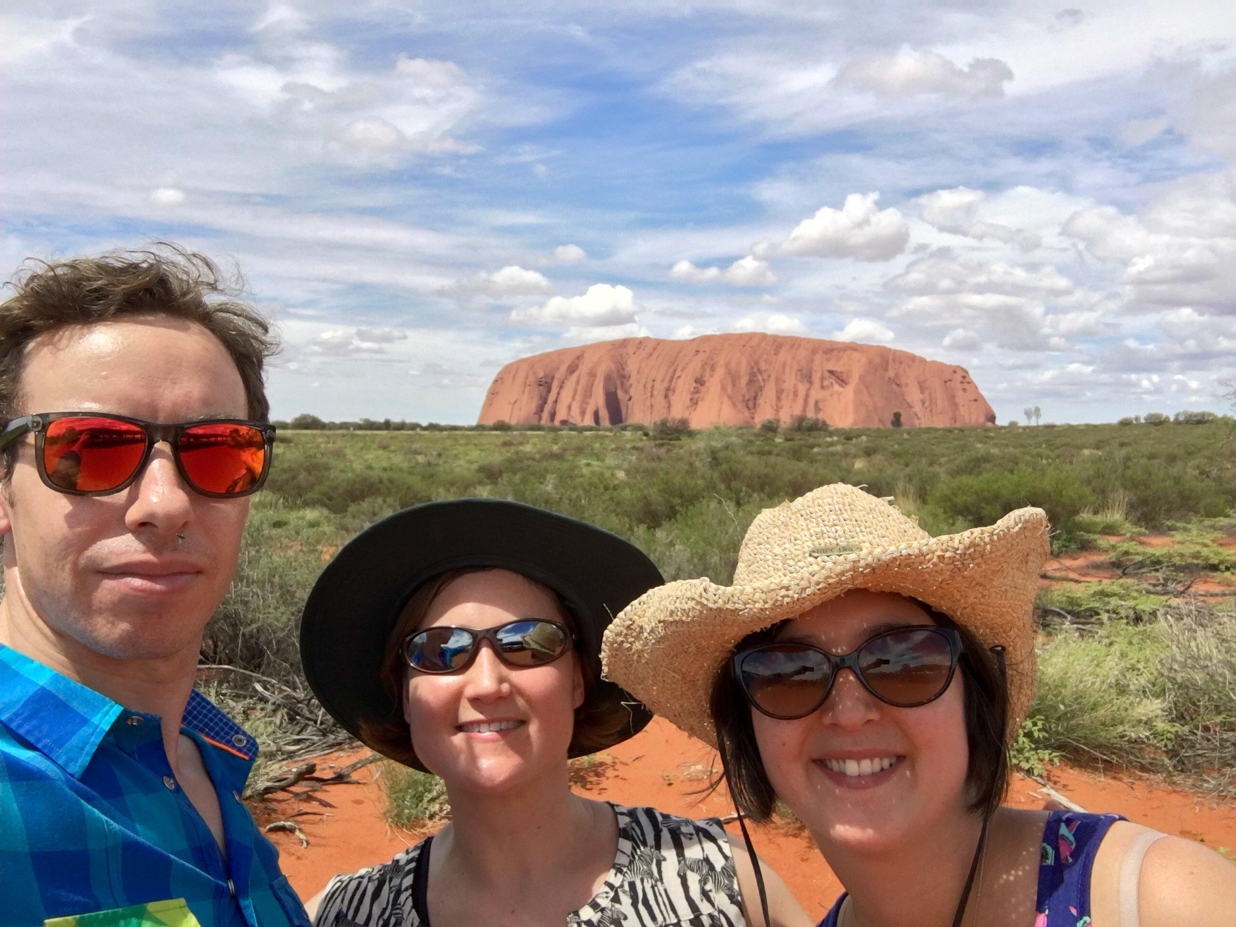 Family trip to Uluru