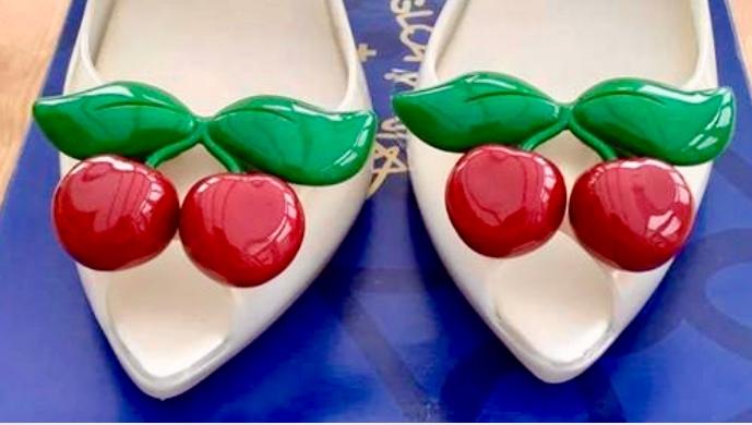 Wedding shoes! Vivienne Westwood Melissa Cherry
