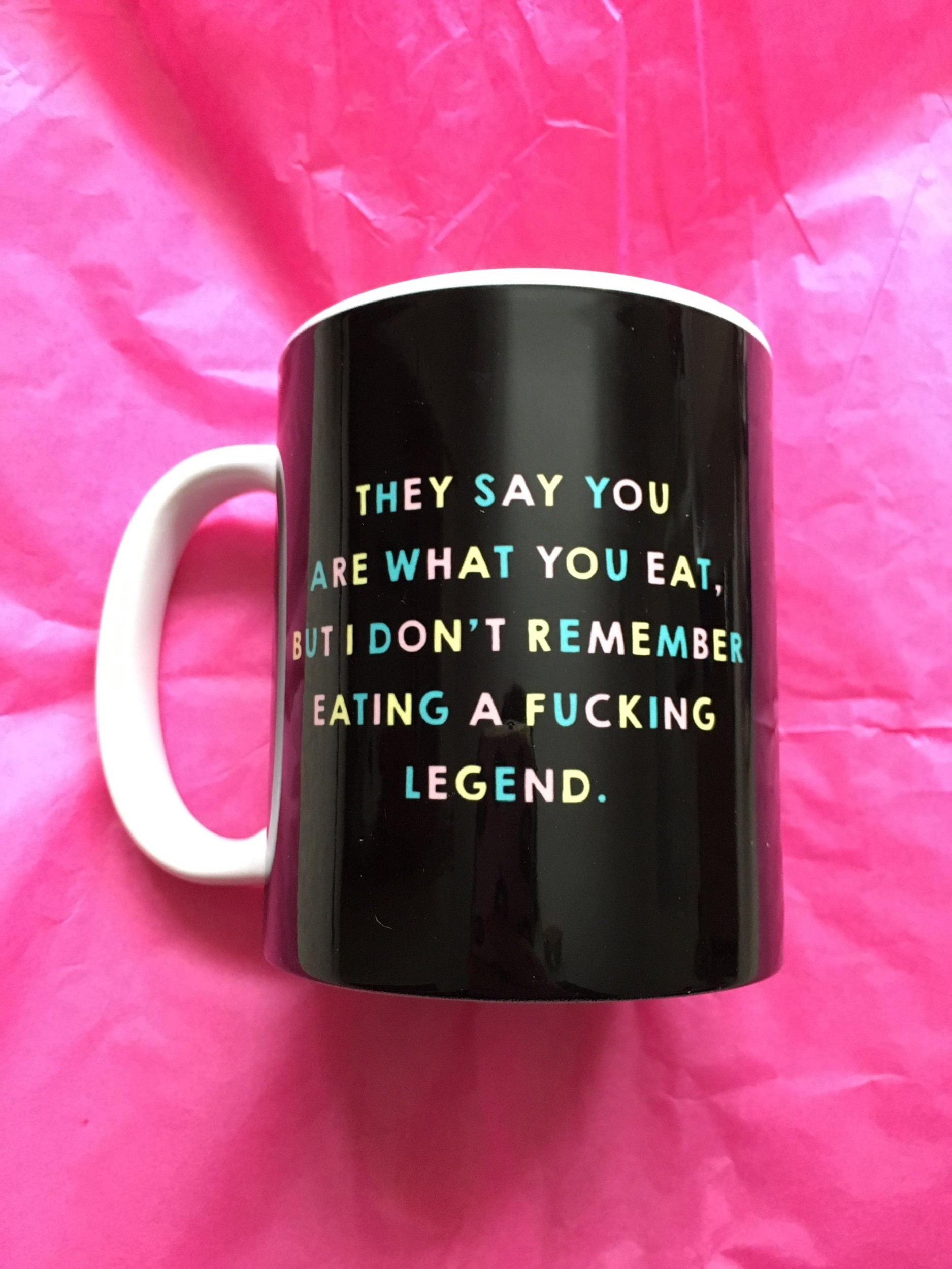 Don't be a mug, gift one