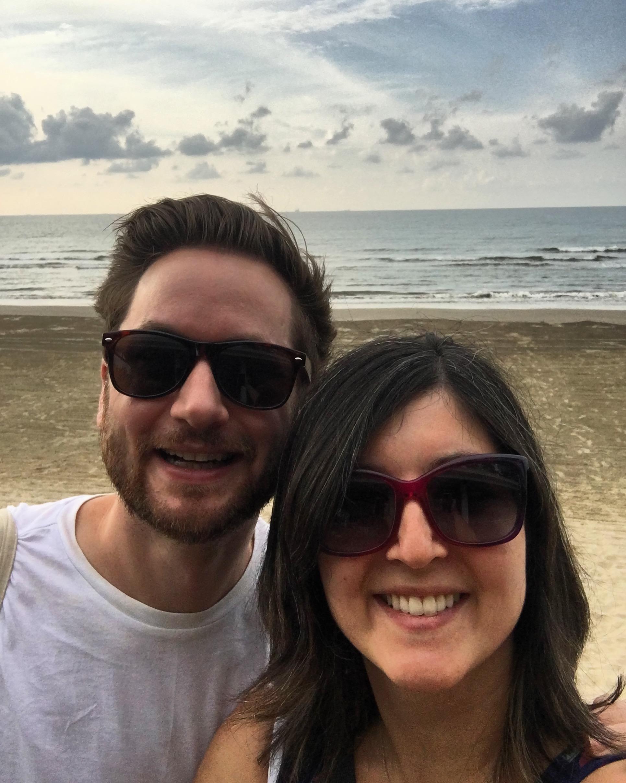 A selfie on Panaga Beach